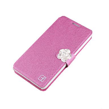 Mert Samsung Galaxy Note Kártyatartó / Strassz / Állvánnyal / Flip Case Teljes védelem Case Egyszínű Kemény Fém SamsungNote 5 / Note 4 /