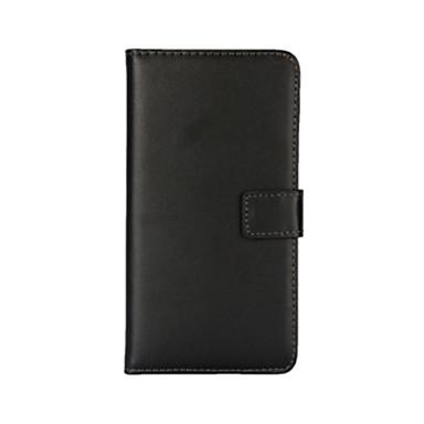 hoesje Voor Nokia Lumia 925 Nokia Nokia hoesje Kaarthouder Portemonnee met standaard Volledig hoesje Effen Kleur Hard PU-nahka voor