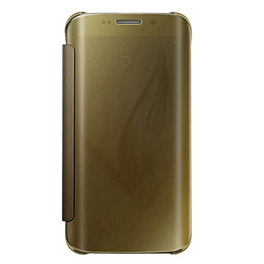 Недорогие Чехлы и кейсы для Galaxy S6 Edge-Кейс для Назначение SSamsung Galaxy S7 edge plus / S7 edge / S7 Флип / Полупрозрачный Чехол Однотонный ПК