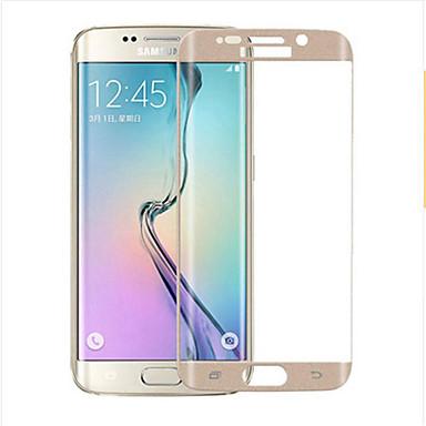 Képernyővédő fólia mert S6 edge Edzett üveg 1 db 9H erősség 2.5D gömbölyített szélek