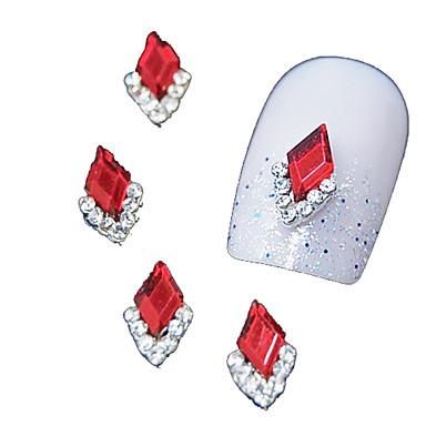 MetalPistol Bijuterie unghii Pentru deget deget de la picior Other Încântător nail art pedichiura si manichiura Fructe / Floare / Abstract Zilnic / Desen animat