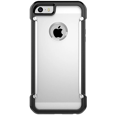 Mert iPhone 6 tok / iPhone 6 Plus tok Ütésálló / Átlátszó Case Teljes védelem Case Páncél Puha TPU AppleiPhone 6s Plus/6 Plus / iPhone