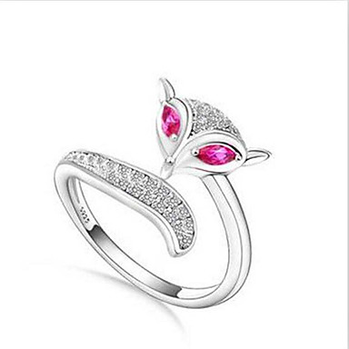Gyűrűk Divat Napi / Hétköznapi Ékszerek Ezüst Karikagyűrűk 1db,Egy méret Ezüst