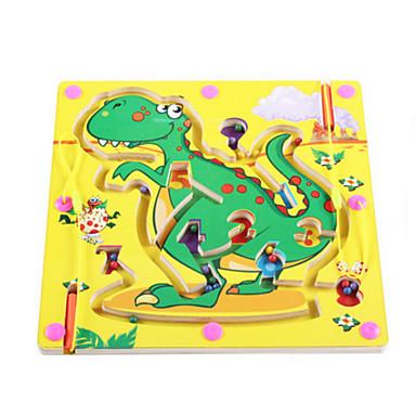 fa mágneses toll gyöngyök labirintus (dinoszauruszok)