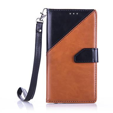 케이스 제품 Huawei P9 Lite P9 화웨이 케이스 지갑 카드 홀더 충격방지 방진 스탠드 풀 바디 한 색상 소프트 인조 가죽 용 화웨이 P9 화웨이 P9 라이트