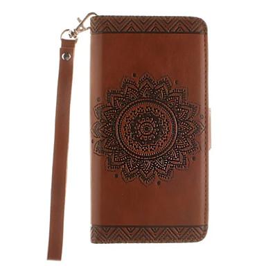 Teljes test pénztárca / Tárcatok / Ütésálló / állvánnyal geometrikus minta Műbőr Kemény Card Holder   Wallet   Shockproof   with Stand Tok