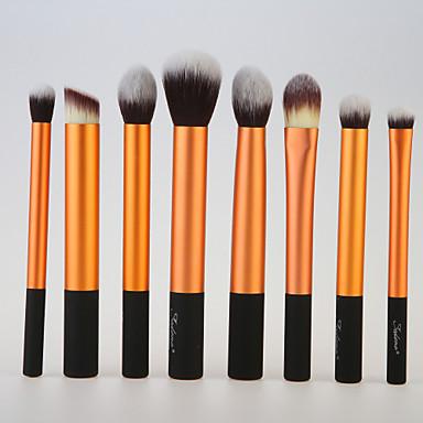 8 stuks Brush Sets Synthetisch haar Oog Gezicht Lip