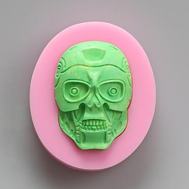 zombi csokoládé szilikon formák, sütemény formák, szappan öntőformák, dekorációs szerszám bakeware