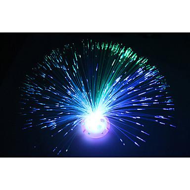 1db új érkezés lava lámpa gyermekjátékok színes flash optikai szálas ég világosabb csepp szállítási