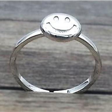 Gyűrűk Divat Napi / Hétköznapi Ékszerek Ezüst Női Karikagyűrűk 1db,Egy méret Ezüst