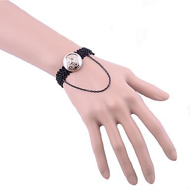 여성 체인 & 링크 팔찌 패션 레이스 합금 보석류 제품 일상 캐쥬얼