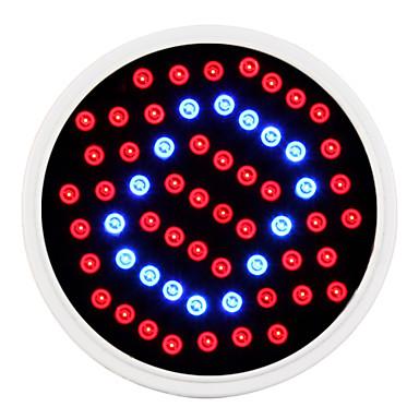 1pc 1.5 W / 2.6 W 360-420LM E26 / E27 LED Küre Ampuller / Büyüyen ampul 60 LED Boncuklar SMD 2835 Kırmızı / Mavi 85-265 V / RoHs / FCC