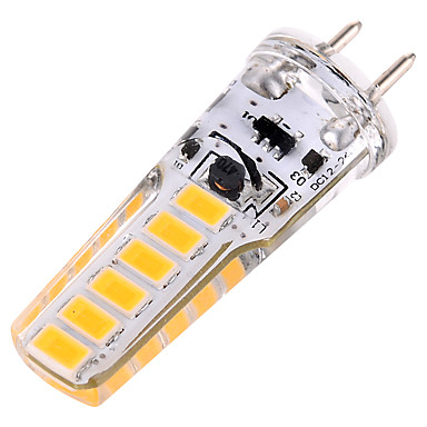 ywxlight® 4w g6.35는 bi-pin 빛을지도했다 12smd 5730 300-400 lm 온난 한 백색 찬 백색 훈장 ac / dc 12v ac / dc 24v 1pc