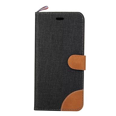 Case Kompatibilitás Samsung Galaxy Samsung Galaxy tok Kártyatartó Pénztárca Ütésálló Héjtok Tömör szín Puha PU bőr mert A5(2016) A3(2016)