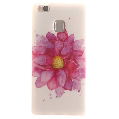 Mert Huawei tok / P9 Lite / P8 Lite IMD Case Hátlap Case Virág Puha TPU Huawei Huawei P9 Lite / Huawei P8 Lite