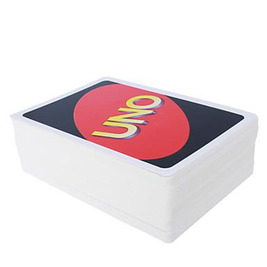 우노 카드 게임 슈퍼 패드 4 색 우노 재생 카드 재미있는 게임 파티 엔터테인먼트 카드 장난감