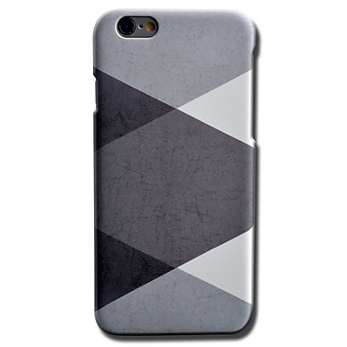 Mert iPhone 6 tok / iPhone 6 Plus tok Other Case Hátlap Case Mértani formák Kemény PC AppleiPhone 6s Plus/6 Plus / iPhone 6s/6 / iPhone