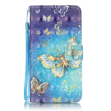 Mert Huawei tok / P9 Lite Kártyatartó / Pénztárca / Flip Case Teljes védelem Case Other Puha Műbőr Huawei Huawei P9 Lite