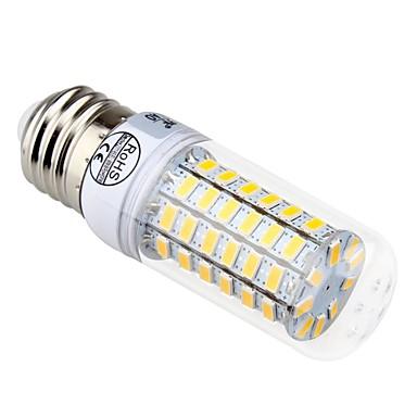 e14 e26 / e27 led corn világítás t 69 smd 5730 840lm meleg fehér hideg fehér 3300k / 6500k dekoratív ac 220-240v