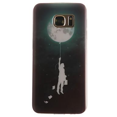 Mert Samsung Galaxy S7 Edge Minta Case Hátlap Case Léggömb Puha TPU SamsungS7 edge / S7 / S6 edge / S6 / S5 Mini / S5 / S4 Mini / S4 / S3