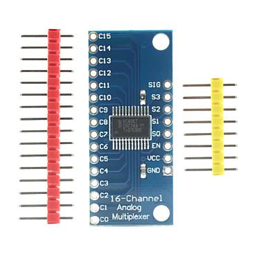 란다의 천서의 TM-16 채널 아날로그 디지털 멀티플렉서 브레이크 아웃 보드는 정확한 모듈을 cd74hc4067