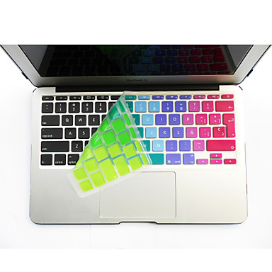 SoliconeKeyboard Cover For11.6'' / 13.3 '' / 15.4'' Macbook Pro cu Retina / MacBook Pro / Macbook Air cu Retina / MacBook Air