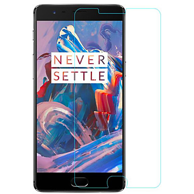 Screen Protector OnePlus for Tempered Glass 1 pc Front Screen Protector Ultra Thin Explosion Proof Mirror 9H Hardness High Definition (HD)