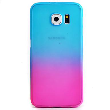 Case Kompatibilitás Samsung Galaxy Samsung Galaxy S7 Edge Minta Héjtok Színátmenet Kemény PC mert S7 edge S7 S6 edge S6