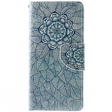 Mert Samsung Galaxy tok Pénztárca / Kártyatartó / Ütésálló / Porálló / Állvánnyal Case Teljes védelem Case Mandala Puha Műbőr Samsung