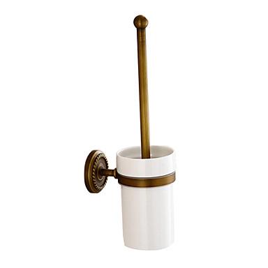 WC-kefe tartó antik bronz falra szerelhető fürdőszoba kiegészítők