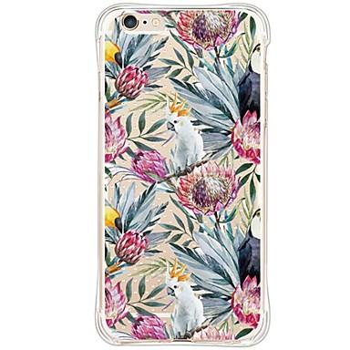 케이스 제품 Apple iPhone 6 iPhone 6 Plus 방진 충격방지 투명 뒷면 커버 동물 소프트 TPU 용 iPhone 6s Plus iPhone 6s iPhone 6 Plus iPhone 6 iPhone SE/5s iPhone 5
