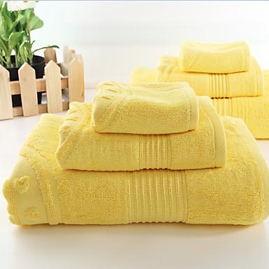 목욕 타올 세트,솔리드 고품질 100% 섬유 수건