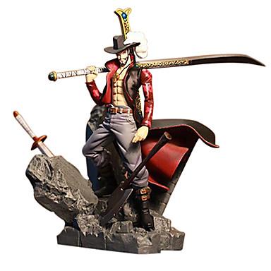 Figuras de Ação Anime Inspirado por One Piece Dracula Mihawk PVC 15 CM modelo Brinquedos Boneca de Brinquedo