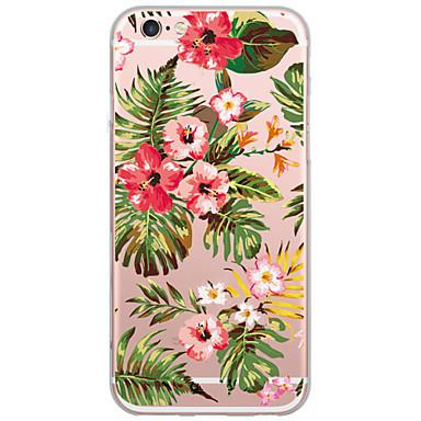 제품 iPhone X iPhone 8 iPhone 6 iPhone 6 Plus 케이스 커버 패턴 뒷면 커버 케이스 꽃장식 하드 PC 용 Apple iPhone X iPhone 8 Plus iPhone 8 iPhone 6s Plus iPhone 6