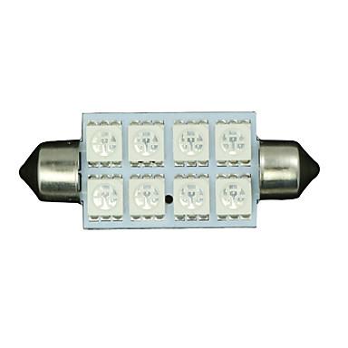 SO.K 4pçs Carro Lâmpadas Iluminação interior For Universal