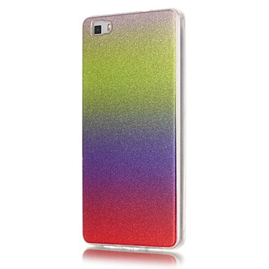 용 화웨이 케이스 / P9 Lite / P8 Lite Other 케이스 뒷면 커버 케이스 컬러 그라데이션 소프트 TPU Huawei 화웨이 P9 라이트 / Huawei P8 Lite / Huawei Honor 4C