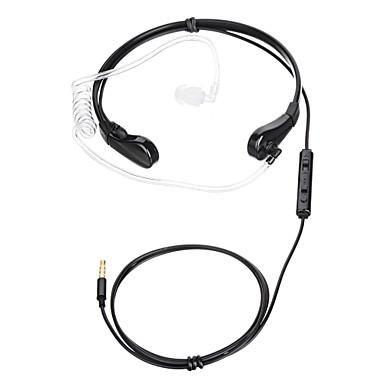 35-0 W uchu / Zespół szyjny Przewodowy / a Słuchawki Plastikowy Telefon komórkowy Słuchawka z mikrofonem Zestaw słuchawkowy