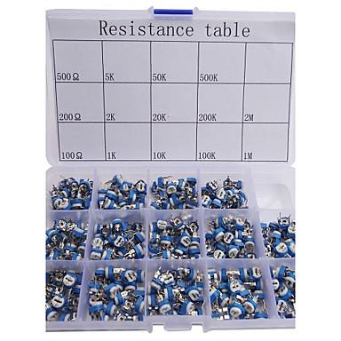 economico Kit Fai-da-te-resistore variabile assortiti kit 14 280pcs valore del potenziometro