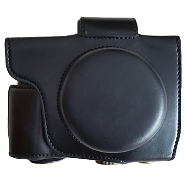 디지털 카메라-가방-올림푸스-원숄더-먼지 방지-블랙 / 커피 / 브라운