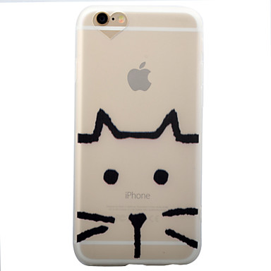 Mert iPhone 6 tok / iPhone 6 Plus tok Jeges Case Hátlap Case Cica Puha TPU Apple iPhone 6s Plus/6 Plus / iPhone 6s/6