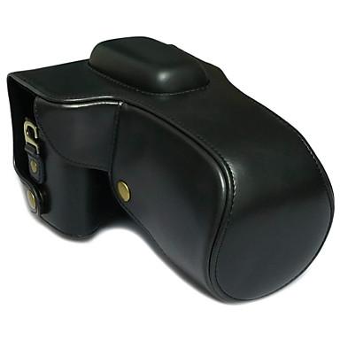 SLR-Nikon-Táska-Félvállas-Fekete-Porbiztos