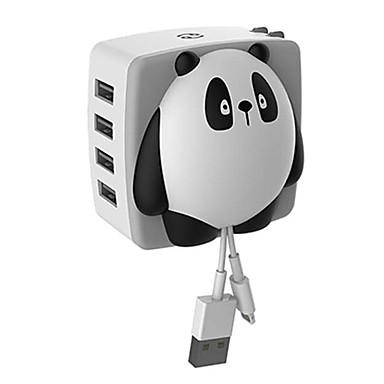 EU 플러그 US플러그 전화 USB 충전기 빠른 충전기 충천기 키트 멀티 포트 cm 아울렛 4 USB 포트 2A DC 12V-24V