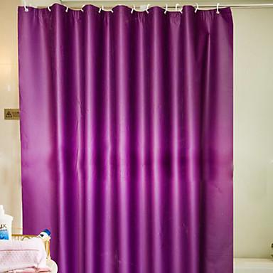 1 개 샤워 커튼 우아한 PEVA 욕실