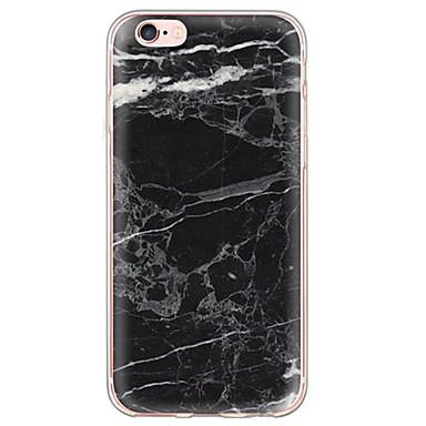 Mert iPhone 6 tok / iPhone 6 Plus tok Ultra-vékeny / Áttetsző Case Hátlap Case Márvány Puha TPU AppleiPhone 6s Plus/6 Plus / iPhone 6s/6
