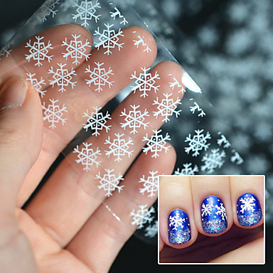 1PC Klasyczny / Kreskówka Naklejki 3D na paznokcie Nail Art Design Słodkie Codzienny