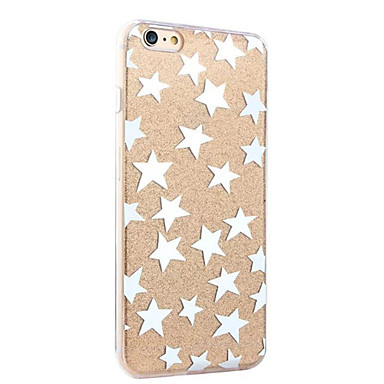 Mert iPhone 6 tok / iPhone 6 Plus tok Ütésálló / IMD Case Hátlap Case Látvány Kemény Akril AppleiPhone 6s Plus/6 Plus / iPhone 6s/6 /