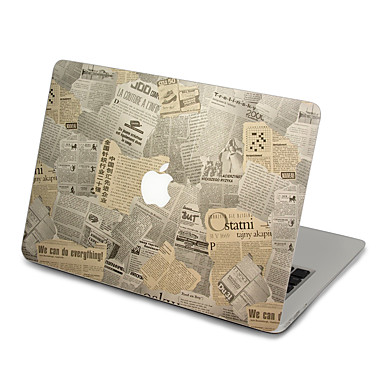 1 db Tok matrica mert Karcolásvédő Rajzfilm Ultravékony Matt PVC MacBook Pro 15'' with Retina MacBook Pro 15 '' MacBook Pro 13'' with