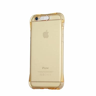 Mert iPhone 6 tok / iPhone 6 Plus tok Ütésálló / Porálló / LED zseblámpa Case Hátlap Case Színátmenet Puha TPU AppleiPhone 6s Plus/6 Plus