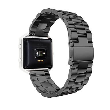 Watch Band na Fitbit Blaze Fitbit Pasek sportowy Stal nierdzewna Opaska na nadgarstek