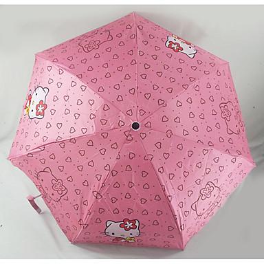 접는 우산 고무 어린이
